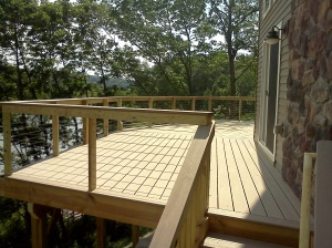 A finished deck